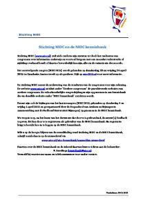 Stichting NIOC en de NIOC kennisbank