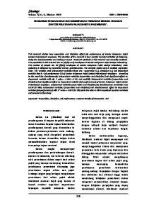 Strategi Volume 3, No. 5, Oktober 2013 ISSN :