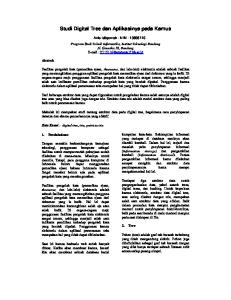 Studi Digital Tree dan Aplikasinya pada Kamus