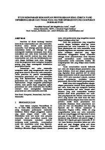 STUDI KOMPARASI KEMAMPUAN PENYELESAIAN SOAL CERITA YANG DIPERSONALISASI DAN TIDAK PADA MATERI OPERASI HITUNG CAMPURAN DI KELAS IV SD
