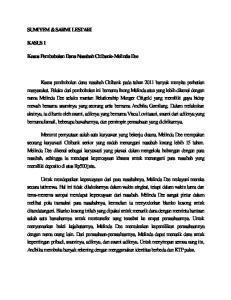 SUMIYEM & SARMI LESTARI KASUS 1. Kasus Pembobolan Dana Nasabah Citibank-Melinda Dee