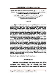 SURYA AGRITAMA Volume 2 Nomor 1 Maret 2013
