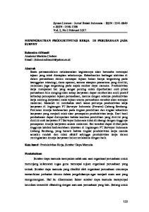 Syntax Literate : Jurnal Ilmiah Indonesia ISSN : e-issn : Vol. 2, No 2 Februari 2017 SURVEY
