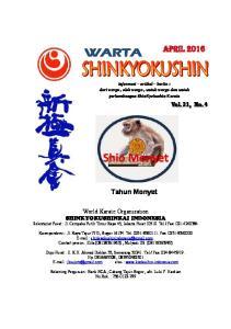 Tahun Monyet. informasi artikel berita : dari warga, oleh warga, untuk warga dan untuk perkembangan ShinKyokushin Karate