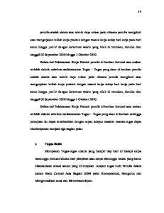 tanggal 02 September 2010 hingga 1 Oktober terlebih dahulu sebelum melaksanakan Tugas Tugas yang akan di berikan penulis