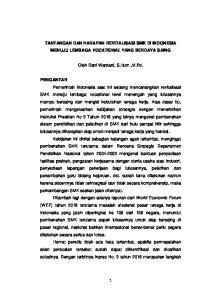 TANTANGAN DAN HARAPAN REVITALISASI SMK DI INDONESIA MENUJU LEMBAGA VOCATIONAL YANG BERDAYA SAING. Oleh Dani Wardani, S.Hum.,M.Pd