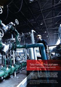 Tata Kelola Perusahaan. Good Corporate Governance