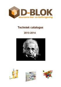 Techniek catalogus