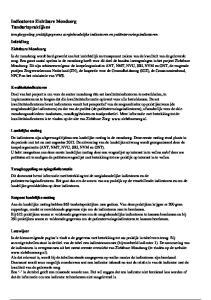 terugkoppeling praktijkgegevens zorginhoudelijke indicatoren en patiëntervaringsindicatoren