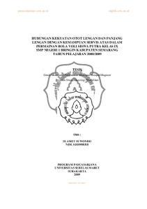 TESIS. Untuk Memenuhi Persyaratan Mencapai Derajad Magister Program Studi Teknologi Pendidikan. Oleh : SLAMET SUWONDO NIM. S