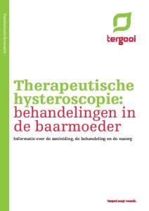 Therapeutische hysteroscopie: behandelingen in de baarmoeder