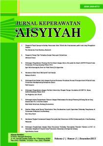 Tia Setiawati, Yeni Rustina, Kuntarti 2. Pengaruh Terapi Pijat Terhadap Derajat Neuropati Diabetikum