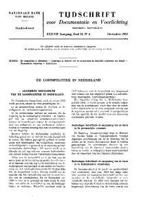 TIJDSCHRIFT. XXX VII Jaargang, Deel II, N r 6 December 1962
