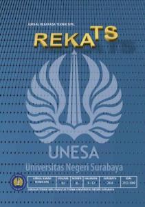 TIM EJOURNAL. Ketua Penyunting: Penyunting: Mitra bestari: Penyunting Pelaksana: Redaksi: Jurusan Teknik Sipil (A4) FT UNESA Ketintang - Surabaya