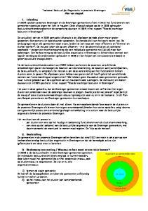 Toekomst Bestuurlijke Organisatie in provincie Groningen Plan van Aanpak