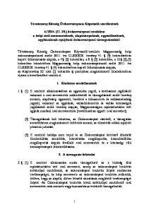 Tótvázsony Község Önkormányzata Képviselő-testületének