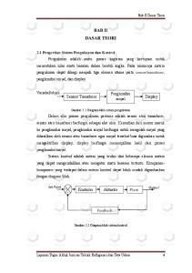 Transducer. Gambar 2.1 Diagram blok sistem pengukuran. Kontroler Aktuator Plant