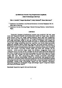 Uji Klinik Susu Formula Yang Disuplementasi Gangliosida Untuk Perkembangan Otak Bayi. ABSTRAK
