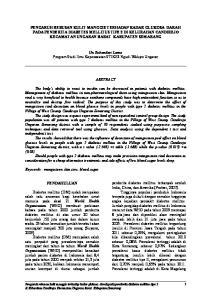 Un Sukandari Lamo Program Studi Ilmu Keperawatan STIKES Ngudi Waluyo Ungaran ABSTRACT