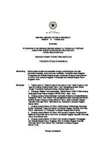 UNDANG-UNDANG REPUBLIK INDONESIA NOMOR 21 TAHUN 2002 TENTANG
