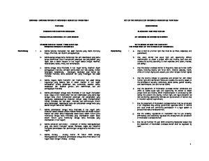 UNDANG - UNDANG REPUBLIK INDONESIA NOMOR 39 TAHUN 2004 ACT OF THE REPUBLIC OF INDONESIA NUMBER 39 YEAR 2004 TENTANG CONCERNING