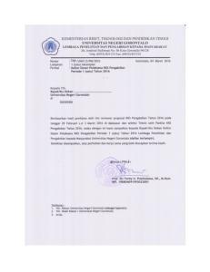 UNIVERSITAS NEGERI GORONTALO LEMBAGA PENELITIAN DAN PENGABDIAN KEPADA MASYARAKAT