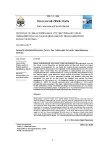 Unnes Journal of Public Health