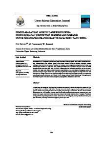 Unnes Science Education Journal