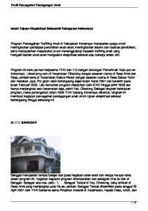 untuk Tujuan Eksploitasi Seksualdi Kabupaten Indramayu
