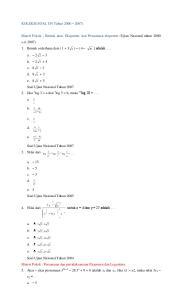 untuk x = 4 dan y = 27 adalah