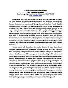 Urgensi Memahami Kembali Pancasila Oleh : Bambang Trisutrisno Ketua Lembaga Kajian Pertahanan untuk Kedaulatan NKRI KERIS