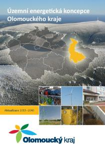 Územní energetická koncepce Olomouckého kraje