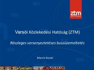 Varsói Közlekedési Hatóság (ZTM)