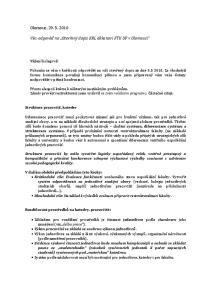Věc: odpověď na Otevřený dopis KRL děkanovi FTK UP v Olomouci