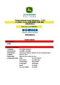 Veřejné jezdecké závody Zduchovice 412B3 1. kvalifika ní kolo JOHN DEERE TOUR 2008