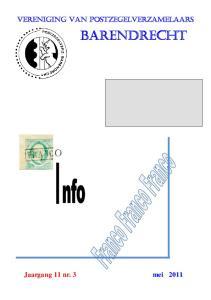 Vereniging van Postzegelverzamelaars. Barendrecht