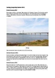 Verslag Campertrip Zweden 2012
