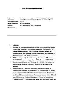 Verslag ex artikel 73a Faillissementswet