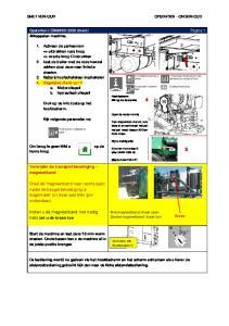 Verwijder de transportbeveiliging - magneetband