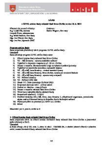 VII. schůze Rady městské části Brno-Chrlice ze dne Přítomni dle prezenční listiny:
