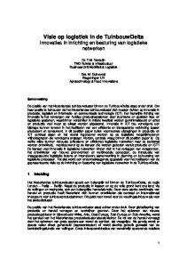 Visie op logistiek in de TuinbouwDelta Innovaties in inrichting en besturing van logistieke netwerken