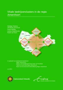 Vitale bedrijvenclusters in de regio Amersfoort