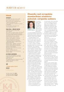 Vladimír Zelenka konsistentní s vývojem požadavků na informace poskytované veřejným sektorem považovány