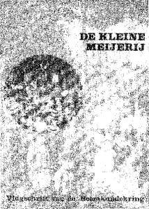 Vlugschrift van de heemkundekring: Berkel-Enschot, Esch, Haaren, Helvoirt, Moergestel, Oisterwijk, Udenhout