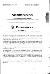 voestalpine VOEST-ALPINE AUTOMOTIVE GmbH