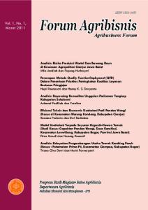 Vol. 1, No. 1, Maret 2011