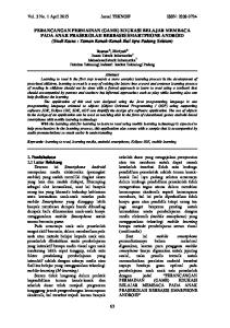 Vol. 3 No. 1 April 2015 Jurnal TEKNOIF ISSN: