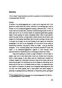 Voor de Jeugd : Jeugdcriminaliteit, particuliere organisaties en de laat-koloniale staat in Nederlands-Indië,