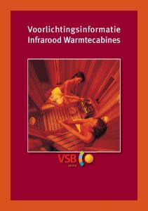 Voorlichtingsinformatie Infrarood Warmtecabines