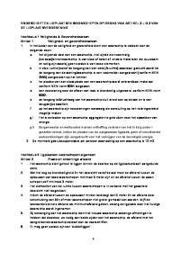 VOORSCHRIFTEN LIGPLAATSEN WOONSCHEPEN OP GROND VAN ARTIKEL 3 LID 2 VAN DE LIGPLAATSVERORDENING